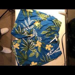 Brand New Floral Vans Shorts